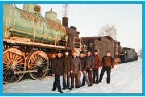 Совместная бригада Донецкой и Одесской дорог готовят экспонаты для донецкого музея